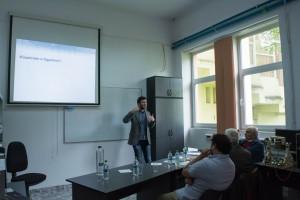 prezentarea lucrarilor