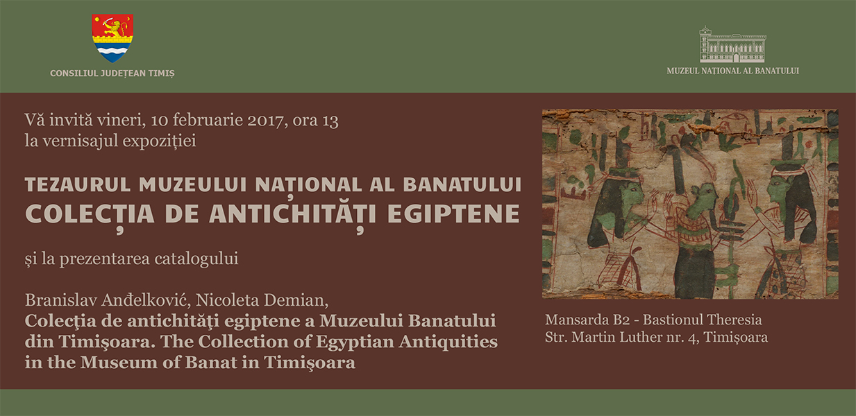 invitatie expo egiptene